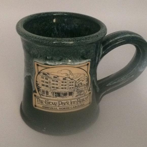 Stoneware glaze  the Grove park mug